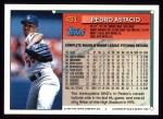 1994 Topps #431  Pedro Astacio  Back Thumbnail