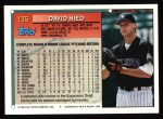1994 Topps #135  David Nied  Back Thumbnail