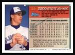 1994 Topps #155  Todd Stottlemyre  Back Thumbnail