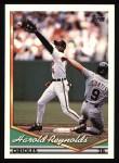 1994 Topps #355  Harold Reynolds  Front Thumbnail