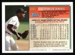 1994 Topps #655  Charlie Hayes  Back Thumbnail
