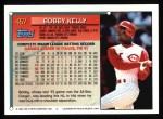 1994 Topps #457  Roberto Kelly  Back Thumbnail