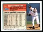 1994 Topps #552  Bill Krueger  Back Thumbnail