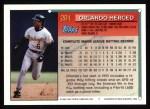 1994 Topps #281  Orlando Merced  Back Thumbnail