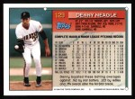 1994 Topps #129  Denny Neagle  Back Thumbnail