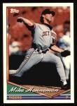1994 Topps #438  Mike Henneman  Front Thumbnail