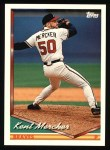 1994 Topps #718  Kent Mercker  Front Thumbnail