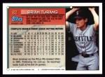 1994 Topps #82  Brian Turang  Back Thumbnail