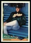 1994 Topps #131  Steve Karsay  Front Thumbnail