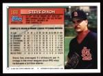 1994 Topps #168  Steve Dixon  Back Thumbnail
