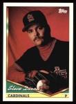 1994 Topps #168  Steve Dixon  Front Thumbnail