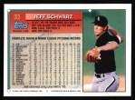 1994 Topps #33  Jeff Schwarz  Back Thumbnail
