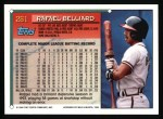 1994 Topps #261  Rafael Belliard  Back Thumbnail