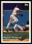 1994 Topps #261  Rafael Belliard  Front Thumbnail