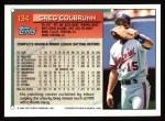 1994 Topps #134  Greg Colbrunn  Back Thumbnail