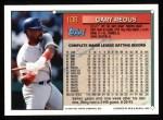 1994 Topps #108  Gary Redus  Back Thumbnail