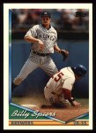 1994 Topps #73  Billy Spiers  Front Thumbnail