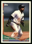 1994 Topps #48  Tony Phillips  Front Thumbnail