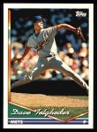 1994 Topps #402  Dave Telgheder  Front Thumbnail