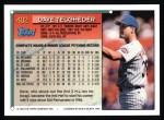 1994 Topps #402  Dave Telgheder  Back Thumbnail