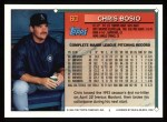 1994 Topps #60  Chris Bosio  Back Thumbnail