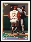 1994 Topps #424  Jeff Kent  Front Thumbnail