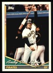 1994 Topps #650  Andy Van Slyke  Front Thumbnail
