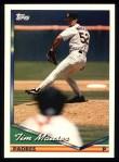 1994 Topps #99  Tim Mauser  Front Thumbnail