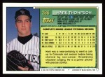 1994 Topps #286  Mark Thompson  Back Thumbnail