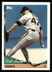 1994 Topps #146  Rod Beck  Front Thumbnail