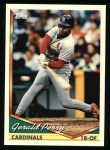 1994 Topps #263  Gerald Perry  Front Thumbnail