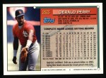1994 Topps #263  Gerald Perry  Back Thumbnail