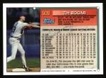 1994 Topps #509  Tim Bogar  Back Thumbnail