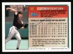 1994 Topps #90  Robin Ventura  Back Thumbnail