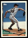 1994 Topps #3  Kevin Rogers  Front Thumbnail