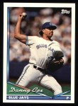1994 Topps #582  Danny Cox  Front Thumbnail