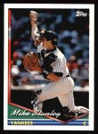 1994 Topps #695  Mike Stanley  Front Thumbnail
