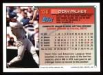 1994 Topps #136  Dean Palmer  Back Thumbnail