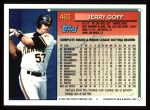 1994 Topps #463  Jerry Goff  Back Thumbnail