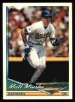 1994 Topps #339  Matt Mieske  Front Thumbnail