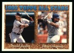 1994 Topps #389   -  Juan Gonzalez  /  David Justice All-Star Front Thumbnail
