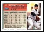 1994 Topps #407  Bruce Ruffin  Back Thumbnail