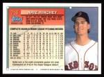 1994 Topps #716  Nate Minchey  Back Thumbnail