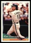 1994 Topps #646  Ken Caminiti  Front Thumbnail