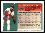 1994 Topps #142  Curt Schilling  Back Thumbnail