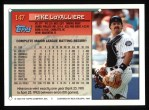 1994 Topps #147  Mike LaValliere  Back Thumbnail