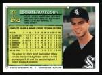 1994 Topps #356  Scott Ruffcorn  Back Thumbnail