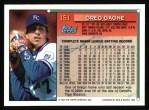 1994 Topps #151  Greg Gagne  Back Thumbnail