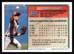1994 Topps #626  Chris Gomez  Back Thumbnail