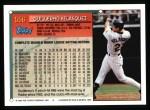 1994 Topps #556  Guillermo Velasquez  Back Thumbnail